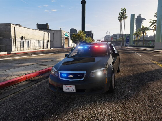 Unmarked LSPD Caprice