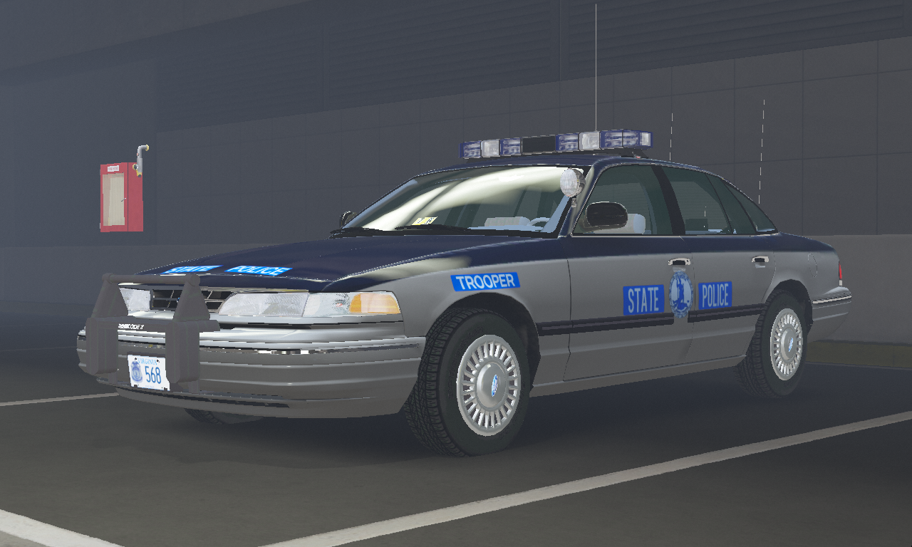 1997 Ford Crown Victoria P71- Virginia State Police