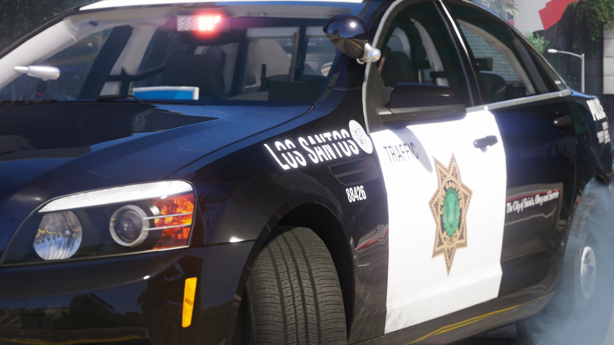 LSPD Traffic Division!