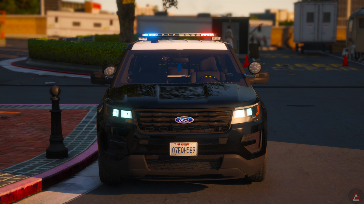   LAPD Explorer '16  