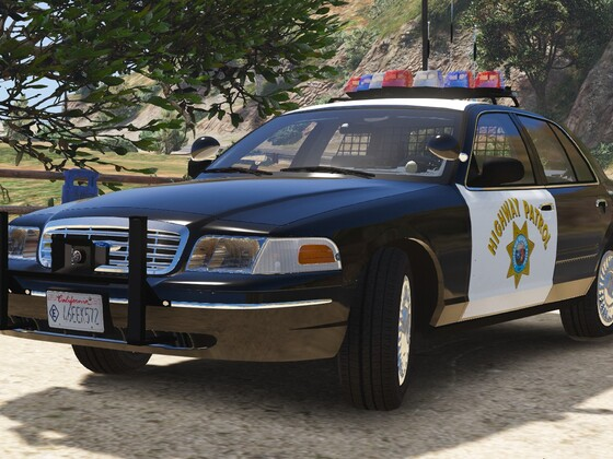 1998 Ford Crown Victoria P71- California Highway Patrol