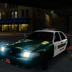 2011 Ford Crown Victoria Police Interceptor Marked- Liberty County Sheriffs Department
