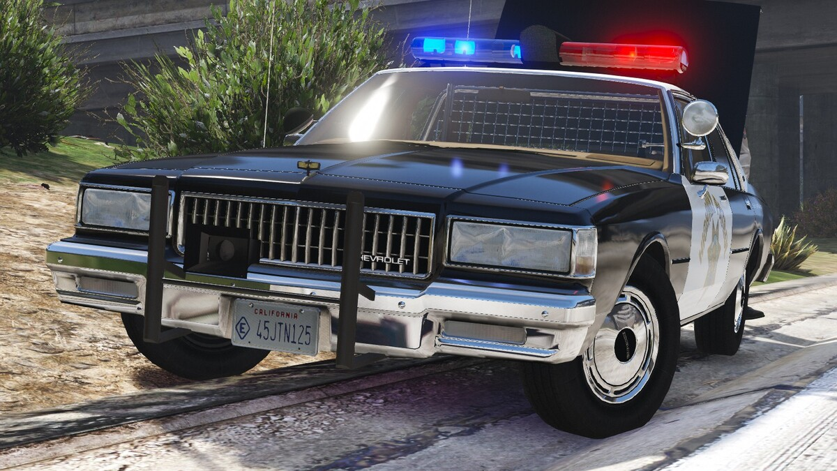 1989 Chevy Caprice 9C1- California Highway Patrol