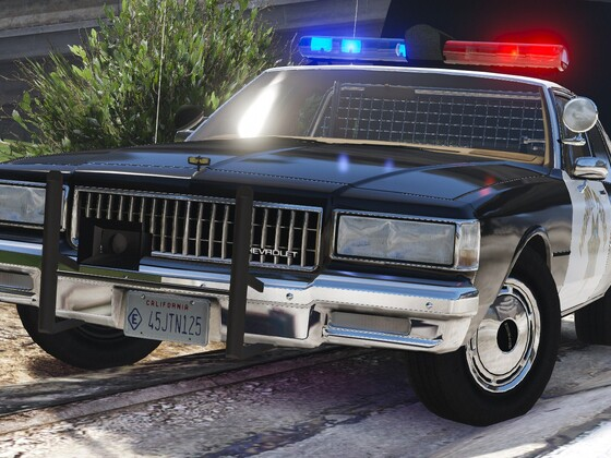 1989 Chevy Caprice 9C1- California Highway Patrol