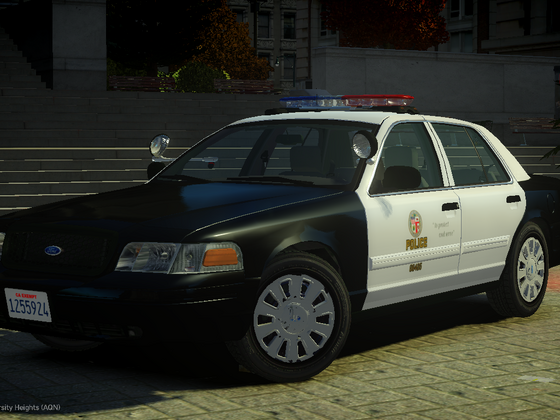 2011 Ford Crown Victoria Police Interceptor - Los Angeles Police Department