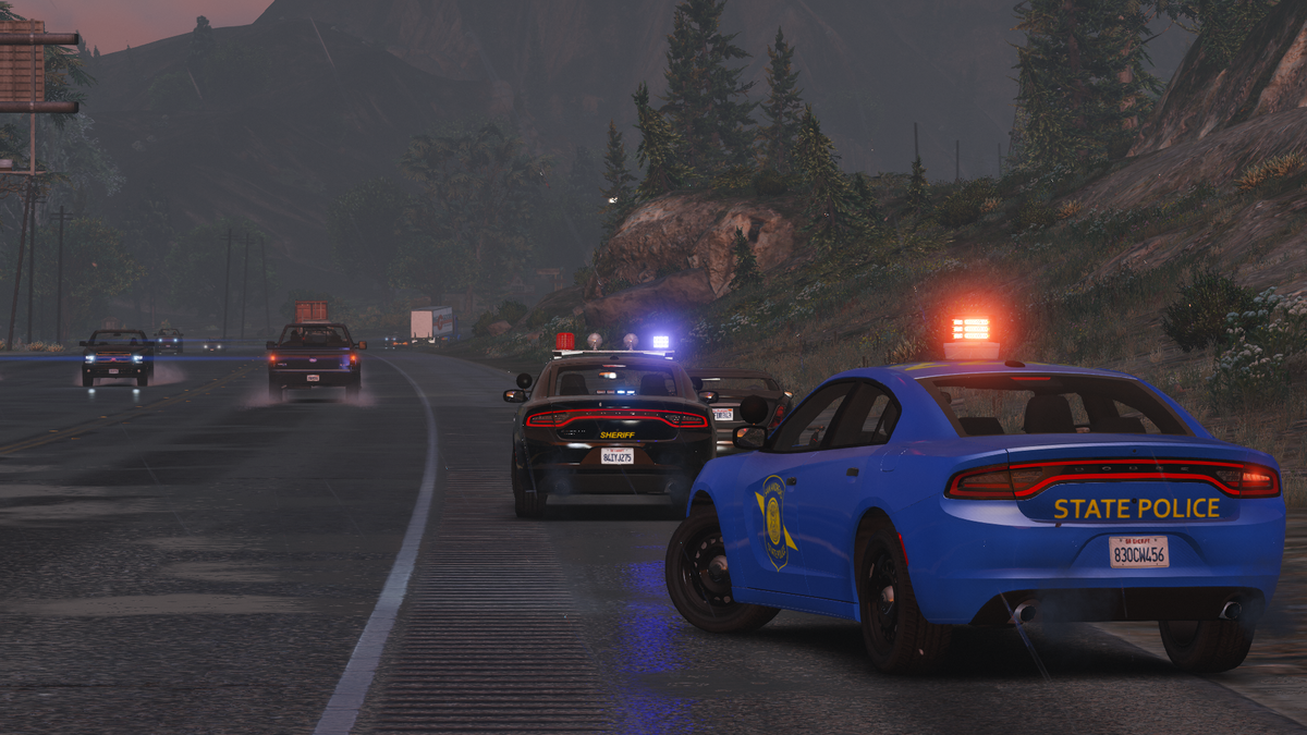 [WIP] SASP Assisting BCSO During A Traffic Stop.