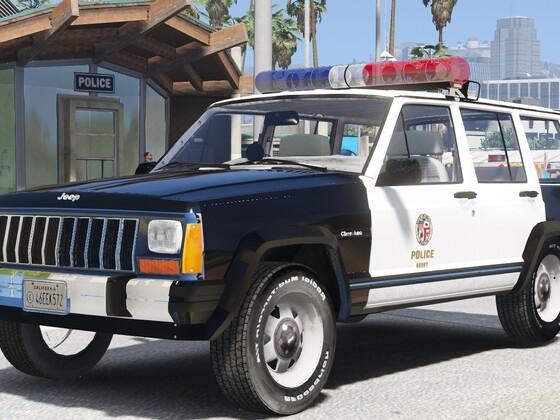 1993 Jeep Cherokee SSP- Los Angeles Police Dept.