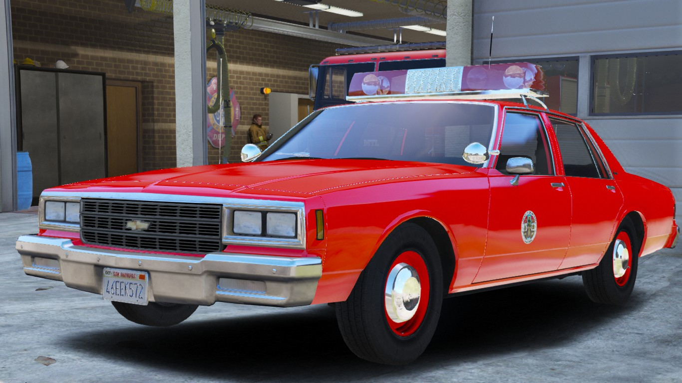1985 Chevy Impala 9C1- Los Angeles County Fire Dept.