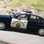 1997 Ford Crown Victoria P71- California Highway Patrol