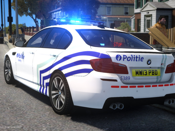 2012 BMW M5 - Lokale Politie (Local Police)