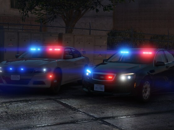 Unmarked LSPD cars