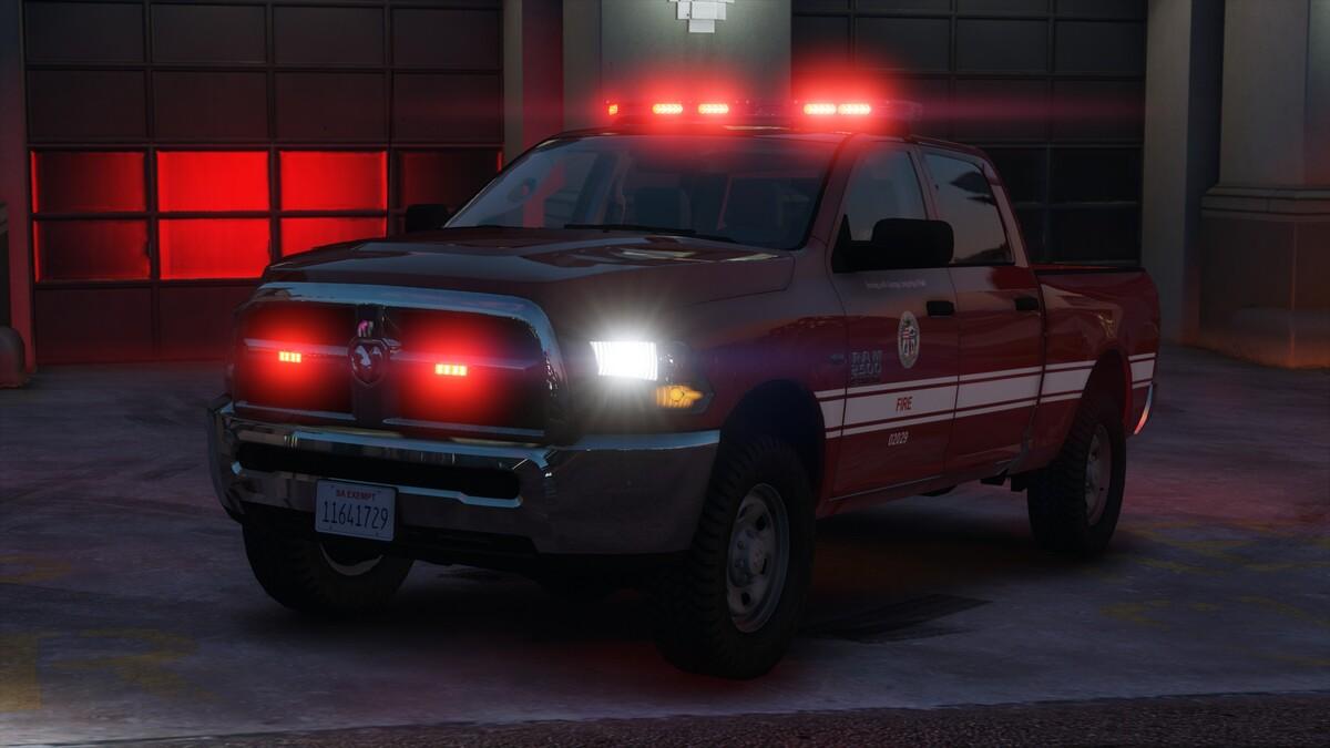Ram 2500 - Los Santos Fire Department