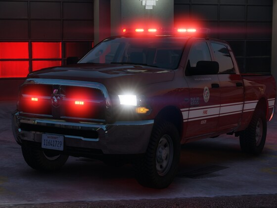 Ram 2500 - Los Santos Fire Department