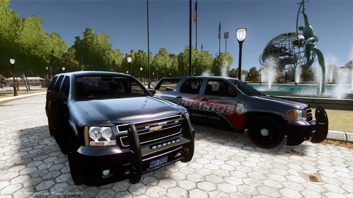 2008 Chevrolet Tahoe PPV Slicktop- Liberty City Police