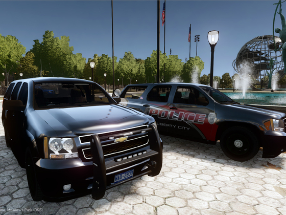 2008 Chevrolet Tahoe PPV Slicktop- Liberty City Police Department.