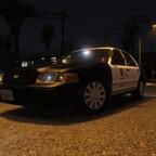Los Angeles Slicktop Crown Victoria Gang Unit