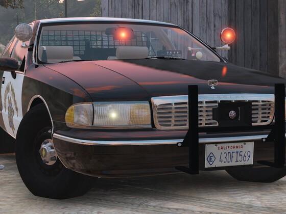 1994 Chevy Caprice 9C1- California Highway Patrol