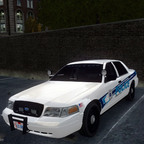 2011 Ford Crown Victoria Slicktop K-9 Unit