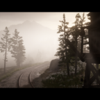 Cinematic view