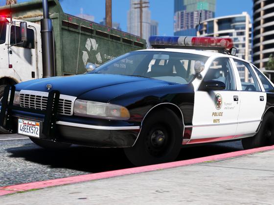 1995 Chevy Caprice 9C1- Los Angeles Police Department