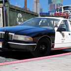 1995 Chevy Caprice 9C1- Los Angeles Police Department