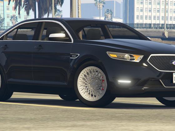 New Taurus SHO wheels