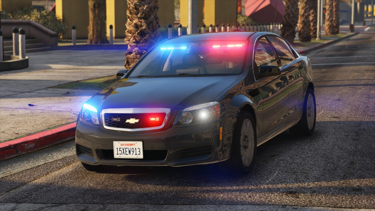 Chevrolet Caprice PPV - Unmarked LSPD