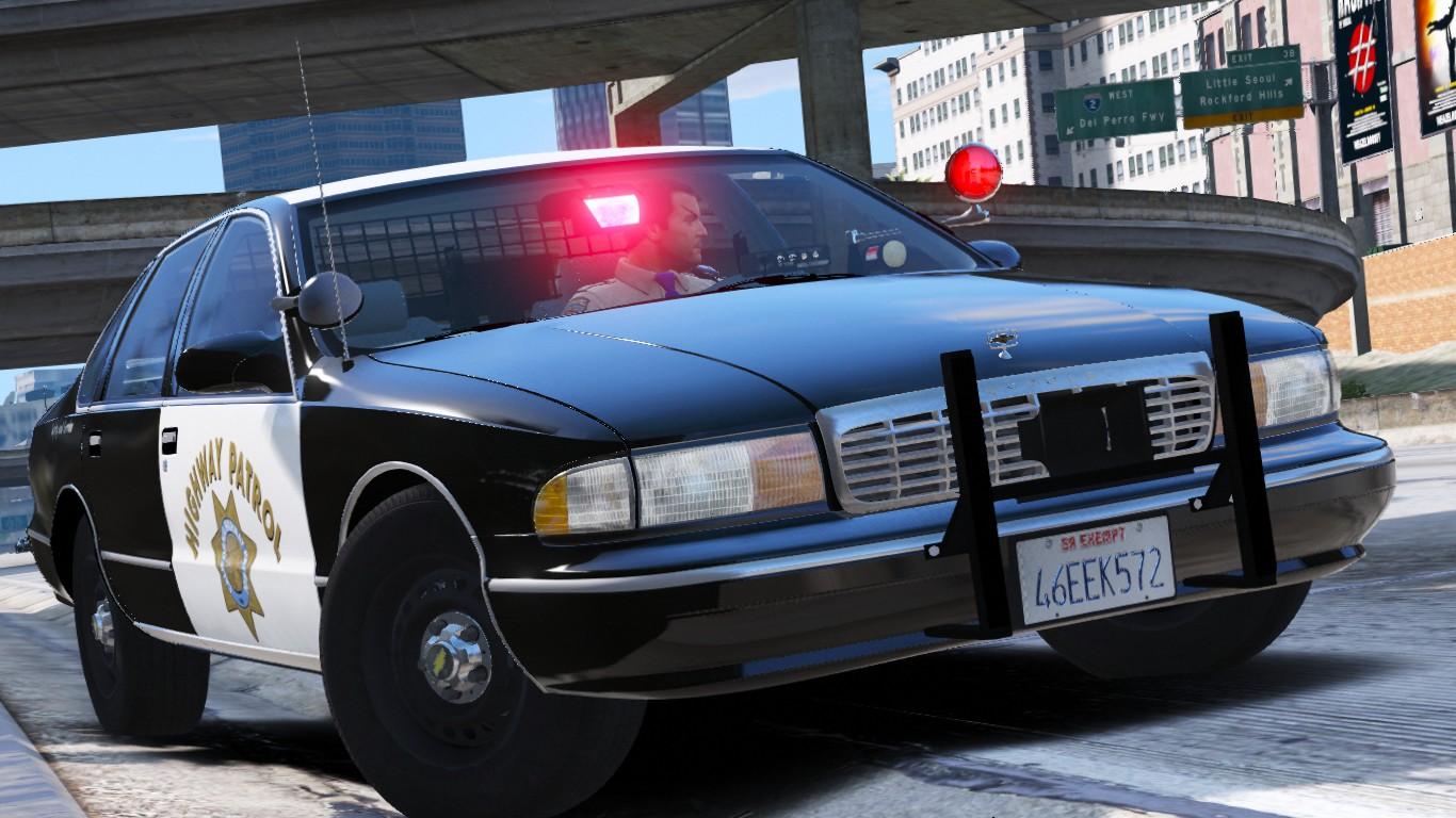 1995 Chevy Caprice 9C1- California Highway Patrol