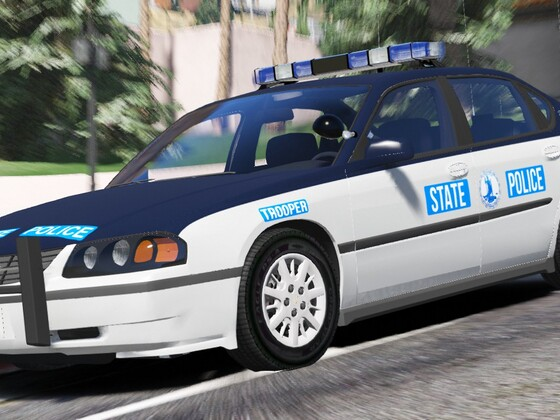 2003 Chevrolet Impala 9C1- Virginia State Police