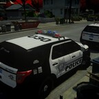 Las Vegas Police On Scene Of A 406A (Burglary Alarm)