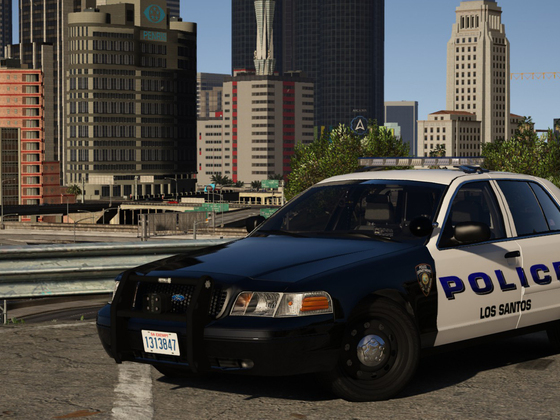 Lafayette, LA Based Police - 2008 Crown Victoria