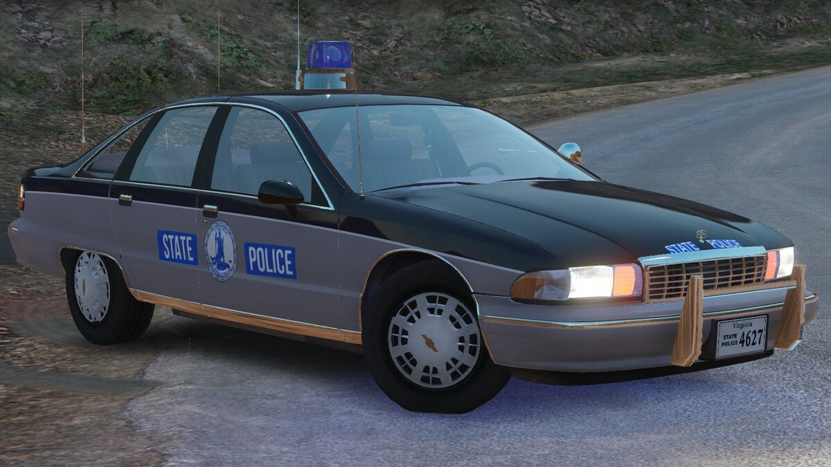 1991 Chevy Caprice 9C1- Virginia State Police