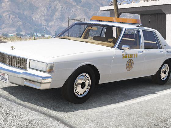 1989 Chevy Caprice 9C1- Los Angeles County Sheriff's Dept. Volunteer Unit