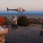 SAHP arresting a gas thief