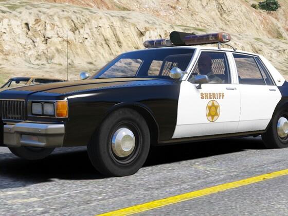 1986 Chevy Caprice 9C1- Los Angeles Sheriff's Dept.