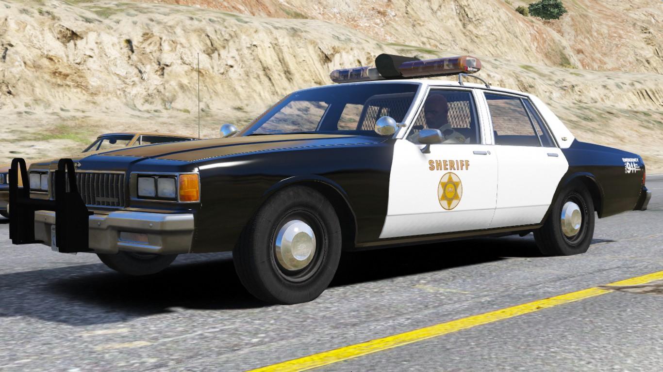 1986 Chevy Caprice 9C1- Los Angeles Sheriff's Dept