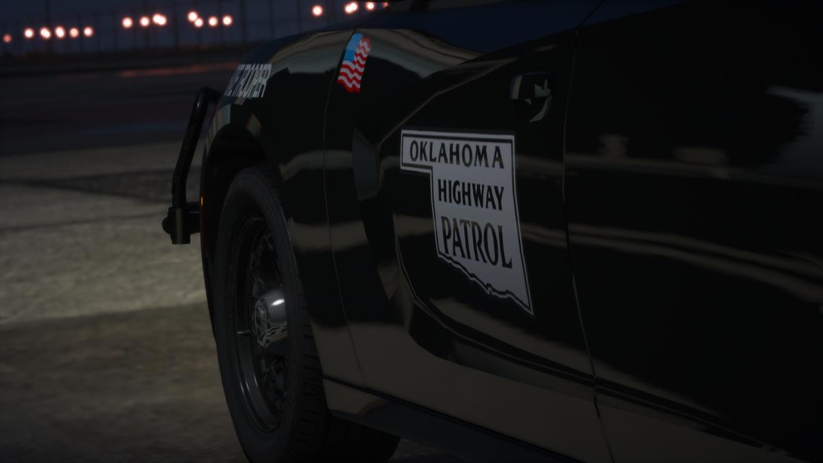 Oklahoma Highway Patrol 2018 RWD Charger
