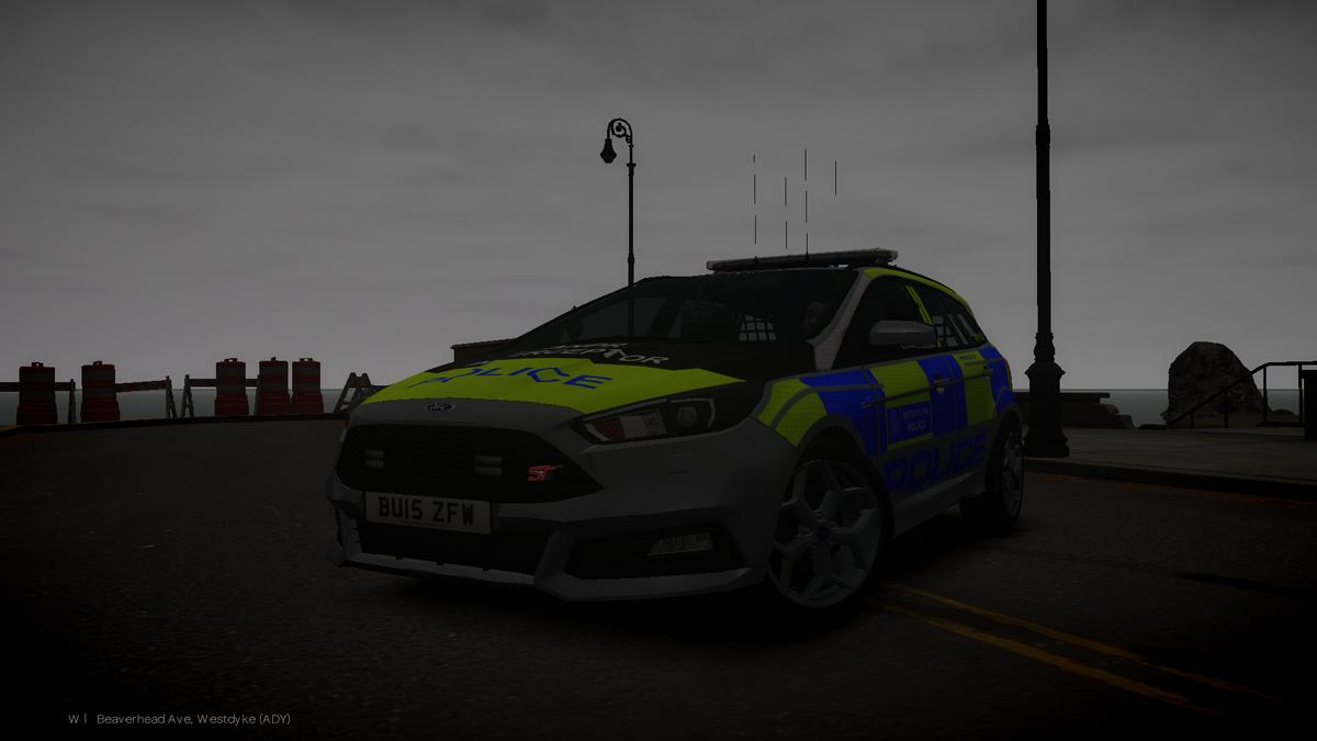Ford Focus Patrol Car