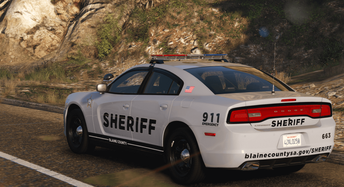 BCSO '14 Charger - Based off of Lake County