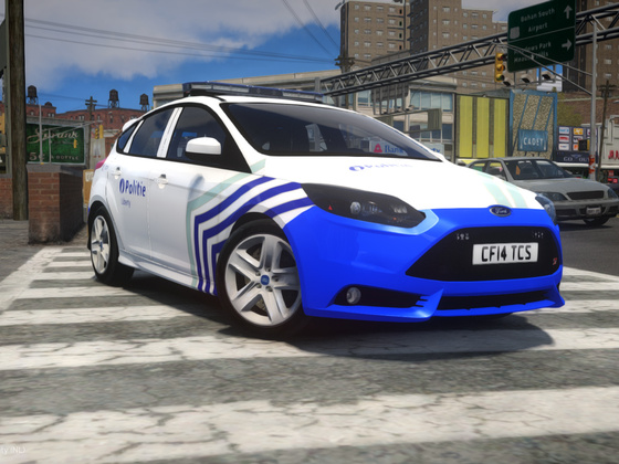 2013 Ford Focus ST - Local Police