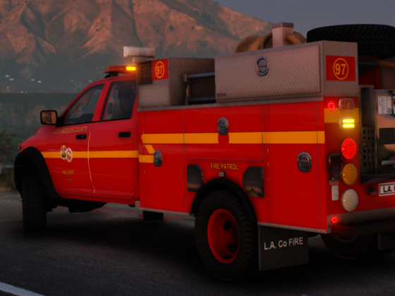 LACoFD Patrol Trucks (WIP)