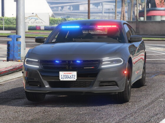 Dodge Charger - Unmarked LSPD