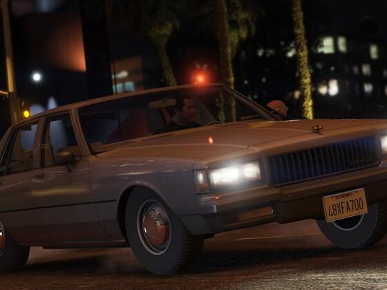 1989 Chevrolet Caprice 9C1 Detective