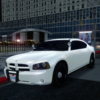 2010 Dodge Charger Police Slicktop Patrol Unit.