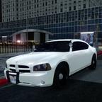 2010 Dodge Charger Police Slicktop Patrol Unit.