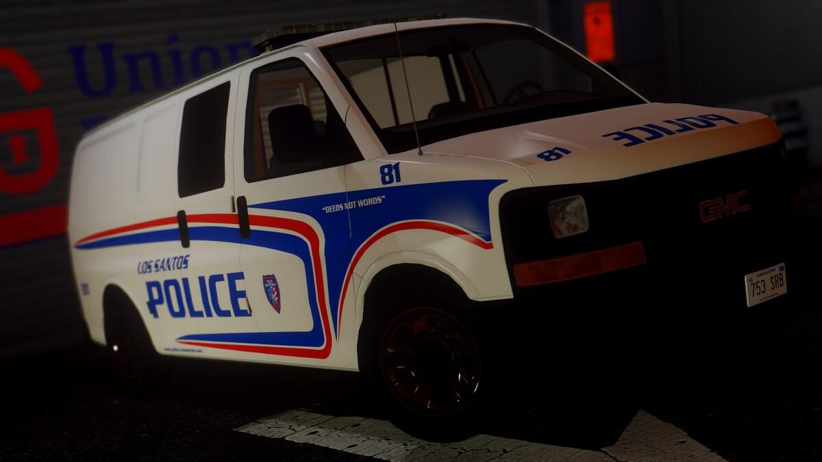 GMC Savana Los Santos Police [WIP]
