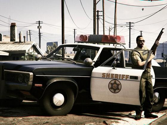 LA Sheriff Riot Deputy