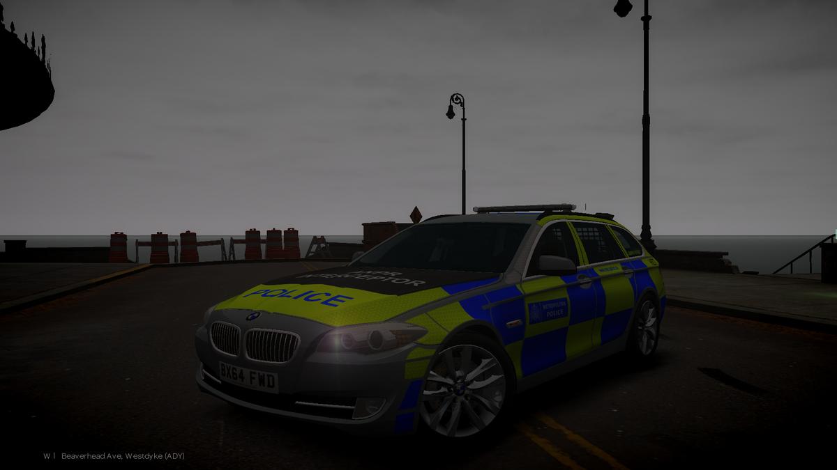 BMW Patrol Car