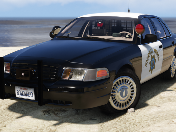 1999 Ford Crown Victoria P71- California Highway Patrol