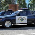 2003 Ford Crown Victoria P71- California Highway Patrol